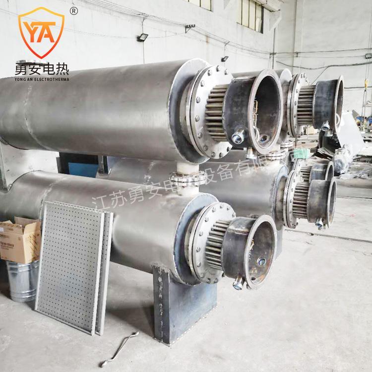 实验空气加热器液体气体管道加热器管道加热器非标定制导热油加热 3