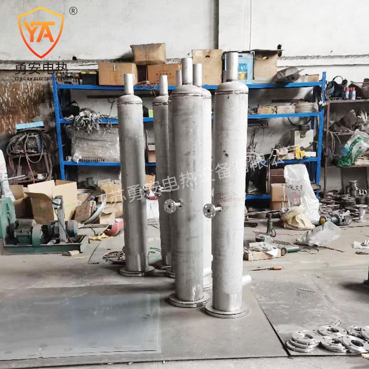 实验空气加热器液体气体管道加热器管道加热器非标定制导热油加热 4