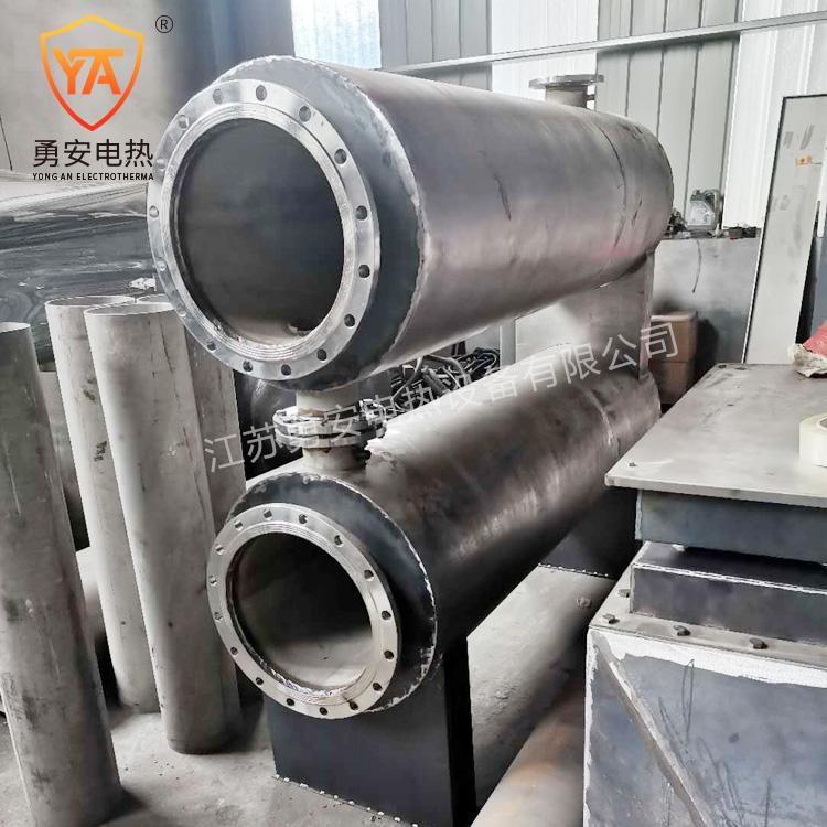 实验空气加热器液体气体管道加热器管道加热器非标定制导热油加热 5