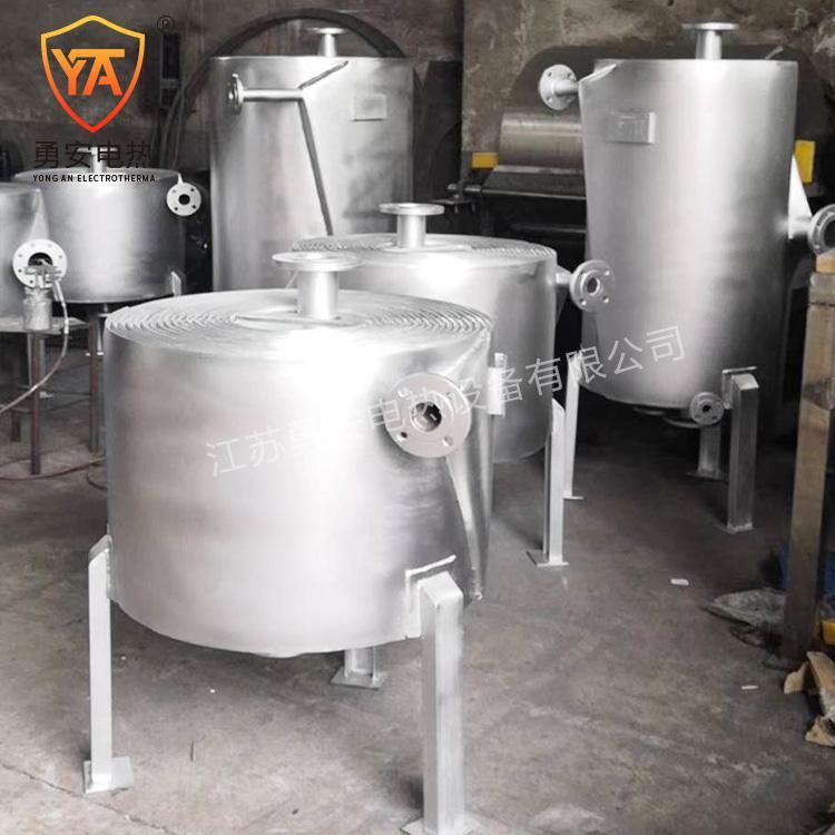 厂家定制容积式换热器 换热器 螺旋板式换热器 螺旋板换热器 4