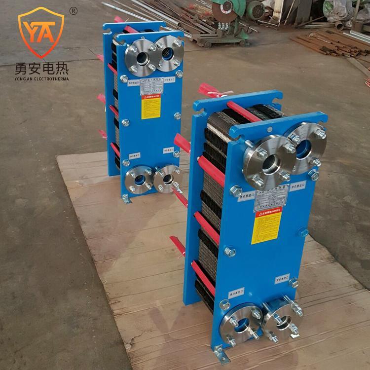 厂家直销 泳池加热锅炉加热 不锈钢可拆式板式换热器冷却器 2