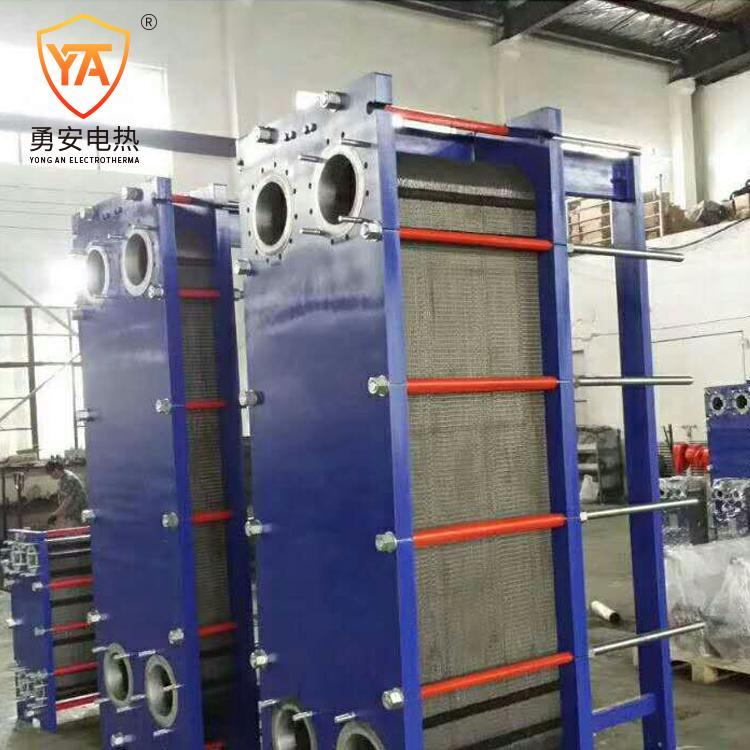 厂家直销 泳池加热锅炉加热 不锈钢可拆式板式换热器冷却器 3