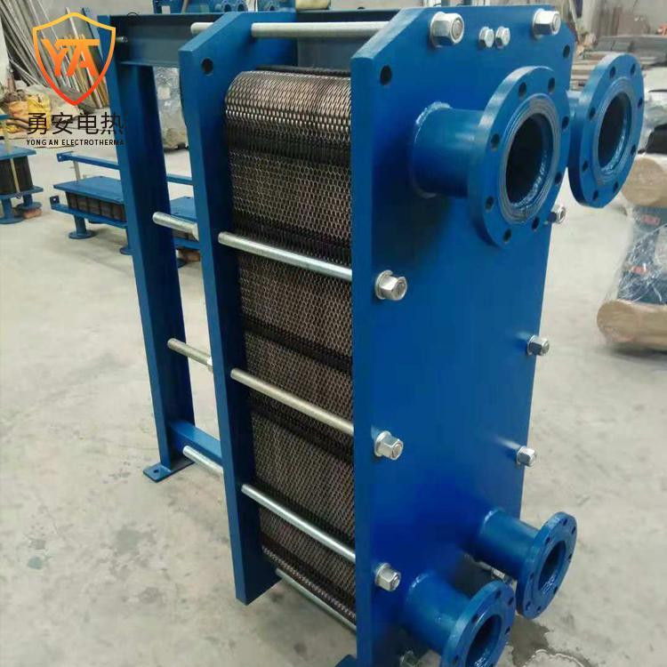 厂家直销 泳池加热锅炉加热 不锈钢可拆式板式换热器冷却器 5