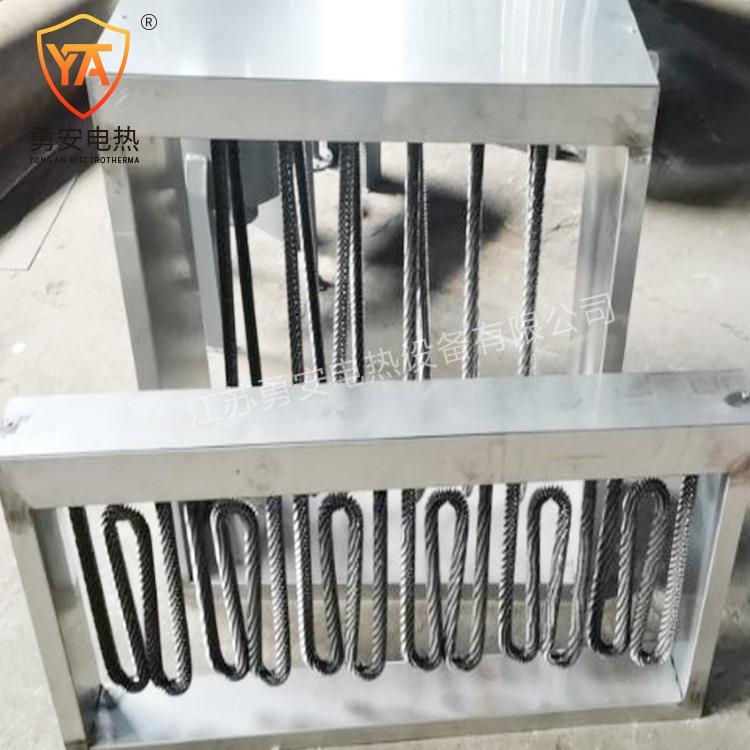 空调风管辅助电加热器管道式加热器风道加热器框架式加热器可定做 4