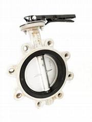 廠家供貨LTD371F不鏽鋼凸耳對夾蝶閥DN50-600mm現貨