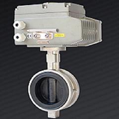 工厂直供D971X-10P不锈钢乙丙包胶板软密封电动蝶阀现货