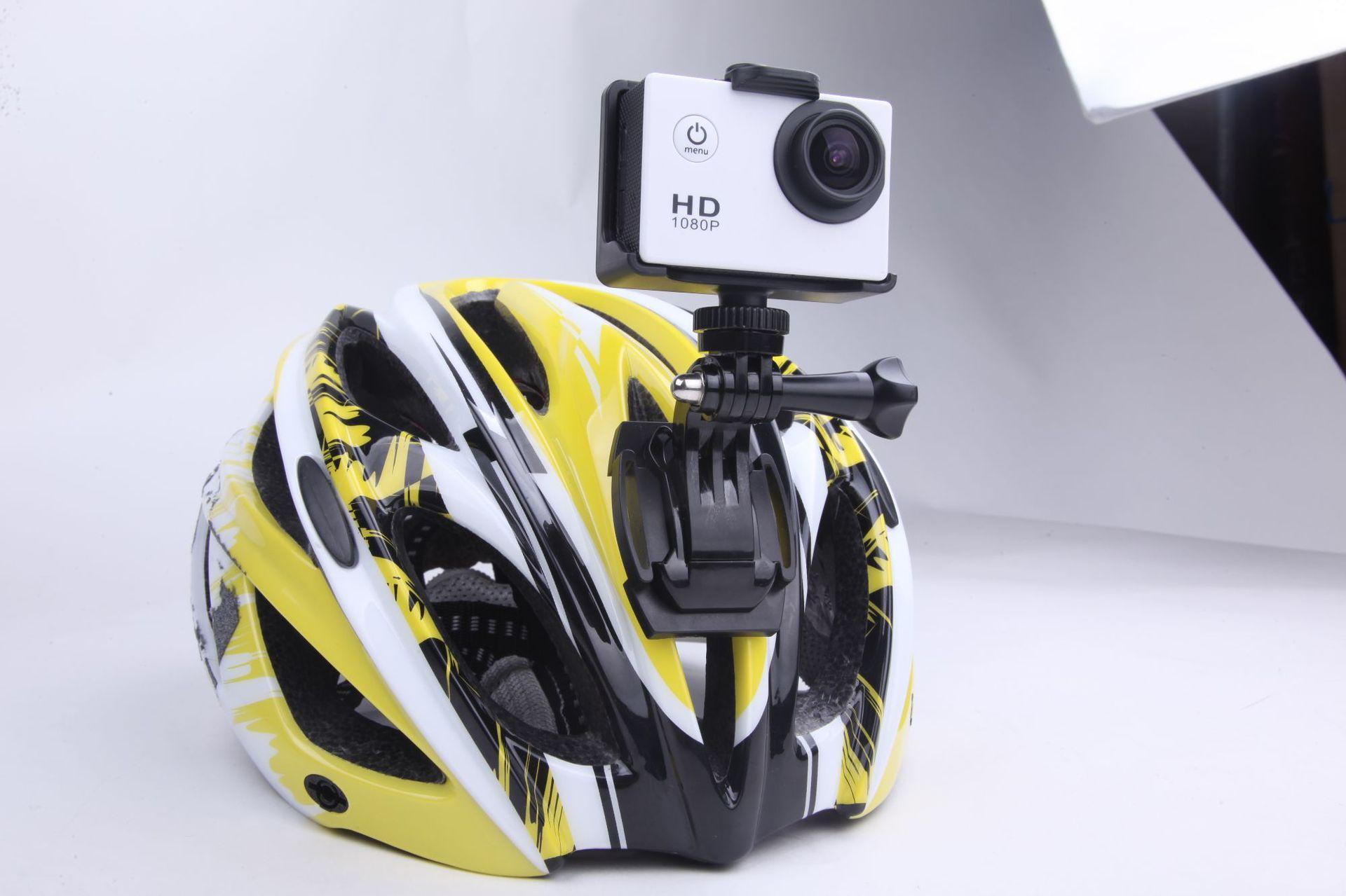 Action Camera Ultra HD 4K 30fps WiFi 2.0-inch 170D Underwater Waterproof Helmet 2