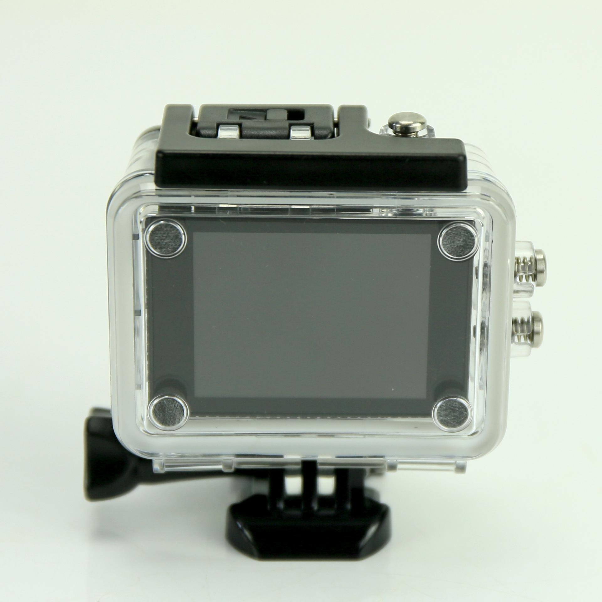 Action Camera Ultra HD 4K 30fps WiFi 2.0-inch 170D Underwater Waterproof Helmet 1