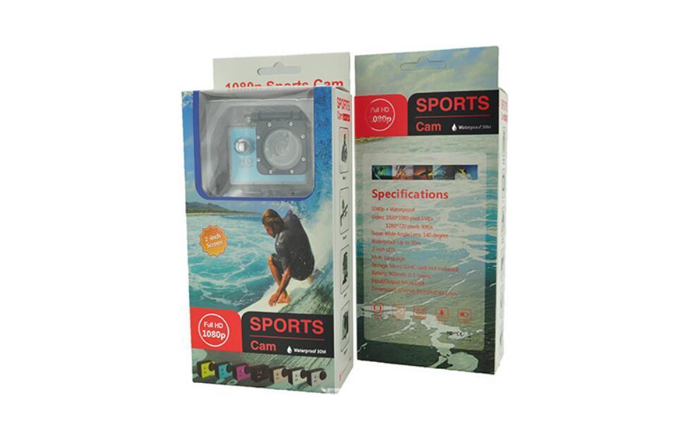 Action Camera Ultra HD 4K 30fps WiFi 2.0-inch 170D Underwater Waterproof Helmet 6