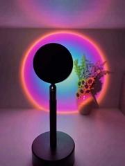 Sunset Rainbow Projection Floor Lamp Romantic LED Sunset Night Light