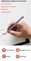 Digital Voice Recorder Pen  Audio Recording   Rechargeable   Sound Dictaphone 5