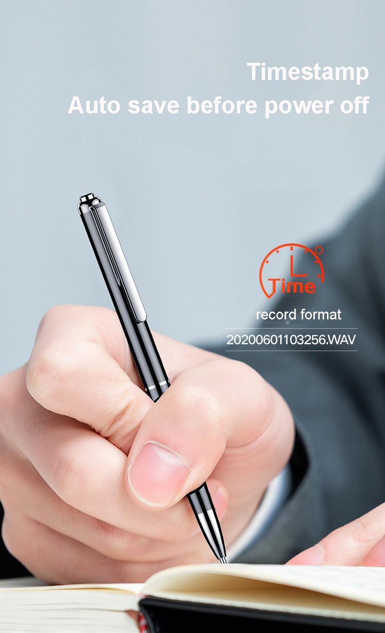 Digital Voice Recorder Pen  Audio Recording   Rechargeable   Sound Dictaphone 6