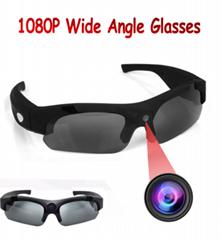 Wide Angle HD Smart 1080P Camera Sunglasses DV DVR Sport Video Cam