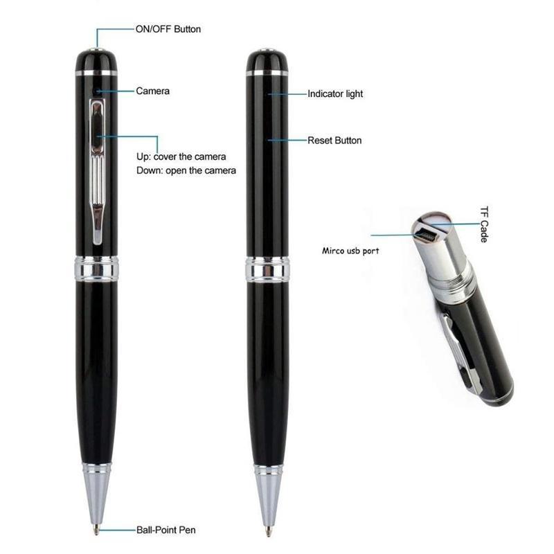 HD 1080P Mini Camera Cam Voice  Video Recorder Pen camera 7
