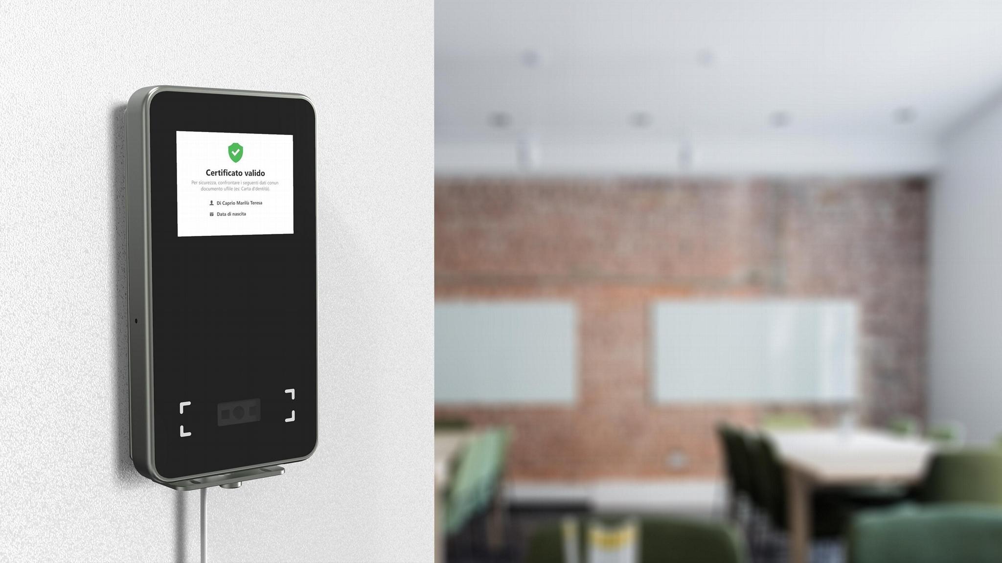 2.8inches EU Green Pass Scanner Access WIFI 2D code scanner 3