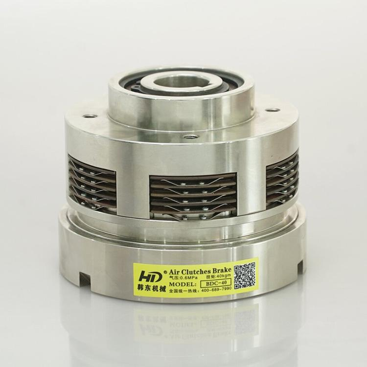BDC multiple pneumatic friction clutch