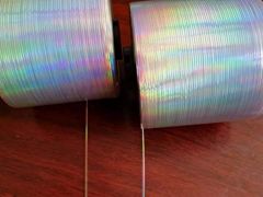 Reel Form Holographic Tear-off Strip for Cigarettes
