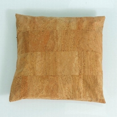 軟木面料靠枕由天然橡樹樹皮製成環保易清洗抗拉伸