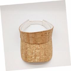 天然纯素软木面料太阳帽