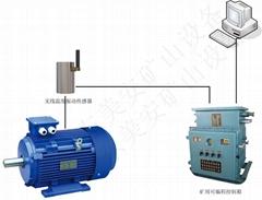煤礦機電設備軸承滾筒溫度振動運行參數在線監測