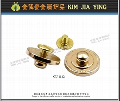 CNC 金属车床扣件