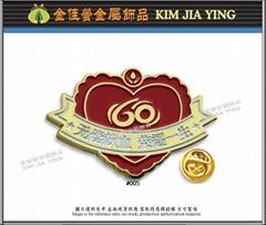 Customized/Blood Donation/Enameled Metal Badge