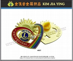 Society/Business/Customized Color Enamel Metal Badge