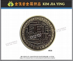 Cultural/customized color enamel metal badge