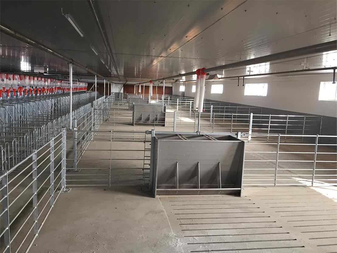 栏位系统育肥大栏 2
