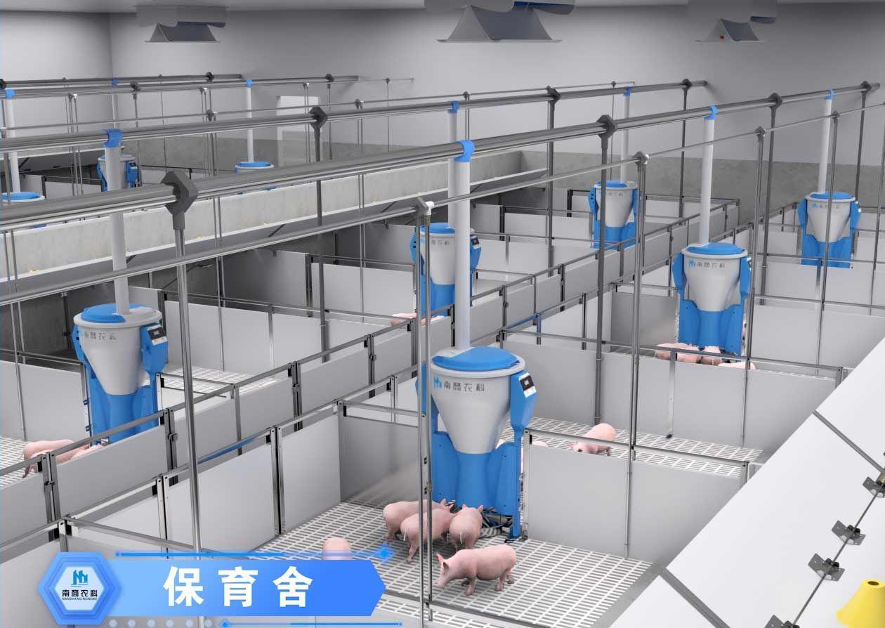 饲喂系统小智倌保育干湿饲喂器 4