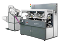 Automatic round object screen printer
