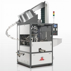 Automatic 2 Color Hot Foil Stamping Machine for Tubes and Bottles