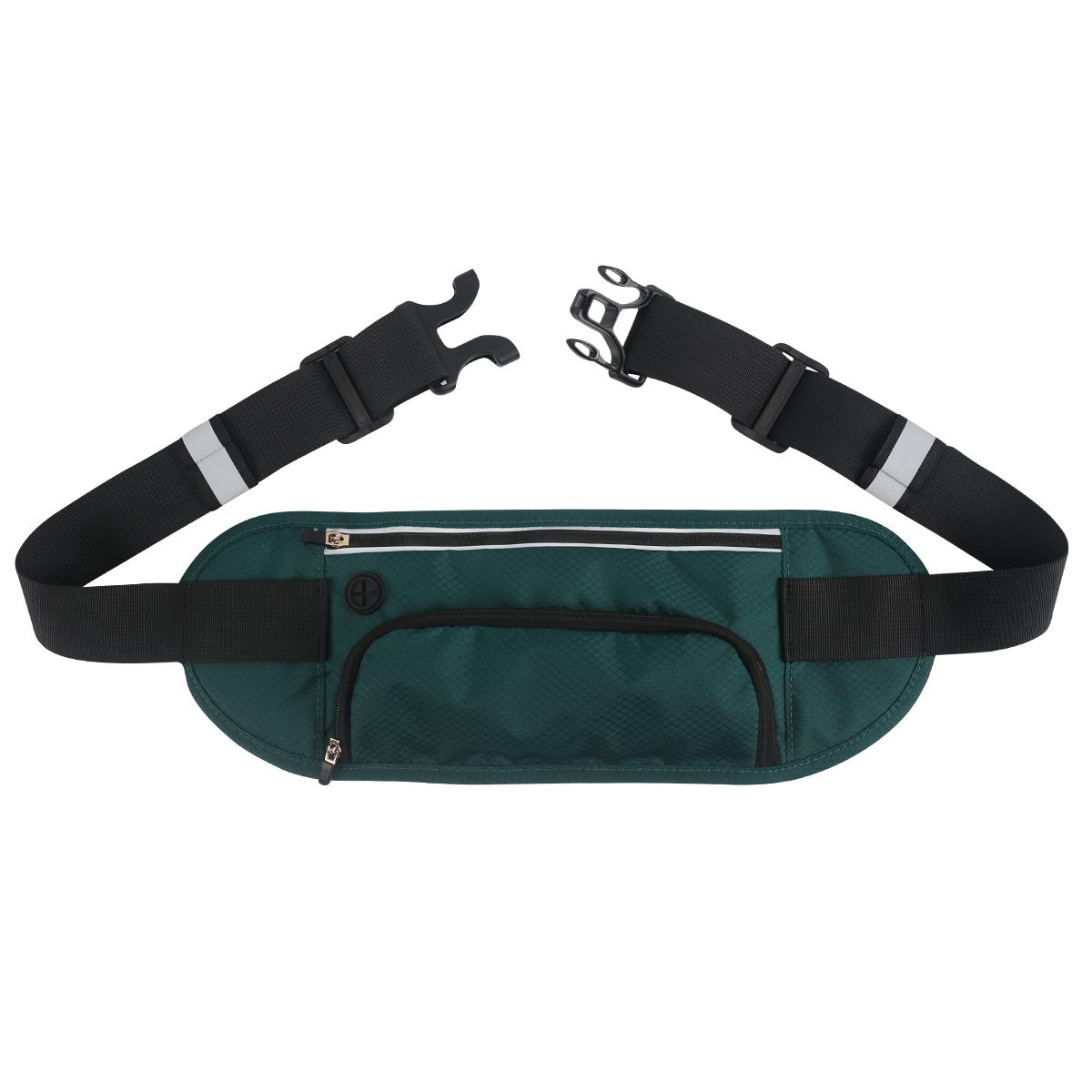 Sports belt bag, waist wallet, Pocket Belt with buckle design 2