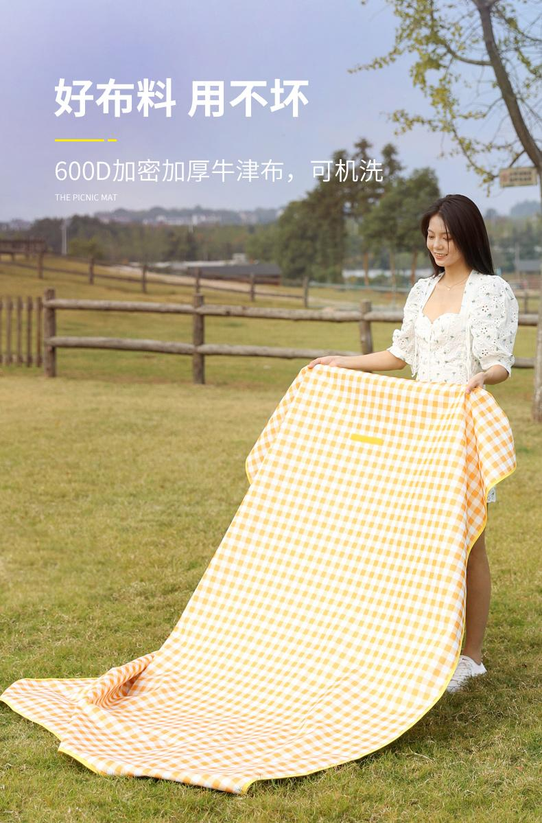 Picnic mat   crawling mat tent mat   outdoor folding waterproof picnic mat 5