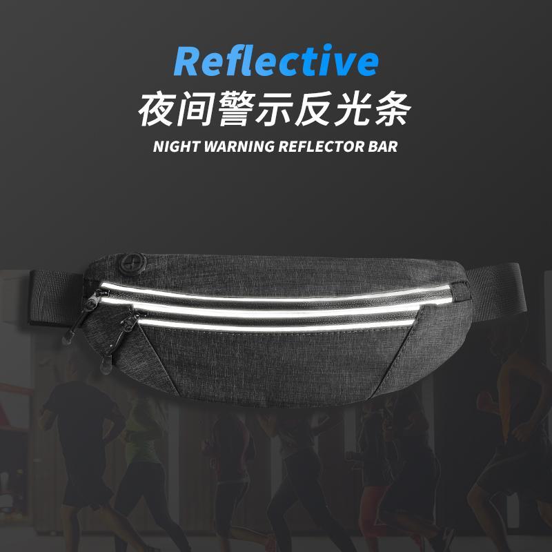 Sports belt bag anti-theft belt bag environmental belt bag