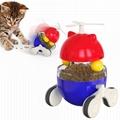 Multi-functional Cat Toy Food dispensing