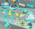 Spray toy Floating toy Pet Molar toy