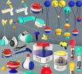 Spray toy Floating toy Pet Molar toy 7