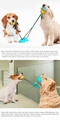 Upgraded Suction Cup Dog Toy  Double Suction Cup Double Ball toy For Dogs