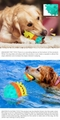 Multifunctional Sound Dog Toothbrush Water pet toy Toy for dog