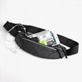 Sports running purse  Bag with Night warning reflector bar Sports bag