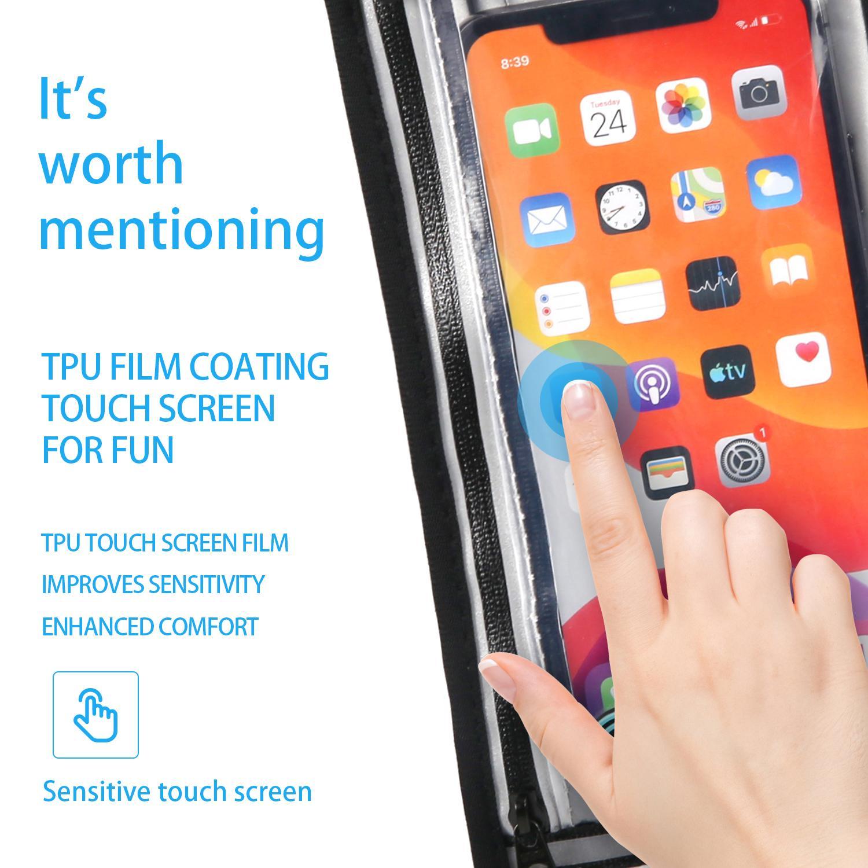 Waist bag Waterproof bag Touch screen bag 7