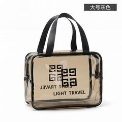 大容量透明pvc化妆包 旅行便携防水洗漱包 化妆品收纳包批发可定制