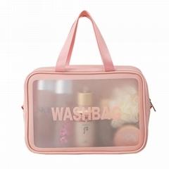 透明化妝包 旅行防水洗漱包 化妝品收納包