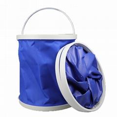 折叠水桶 户外水桶 收纳桶