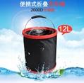 Folding bucket Outdoor bucket Storage bucket