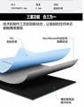 Yoga mat PU rubber mat Antislip mat 3
