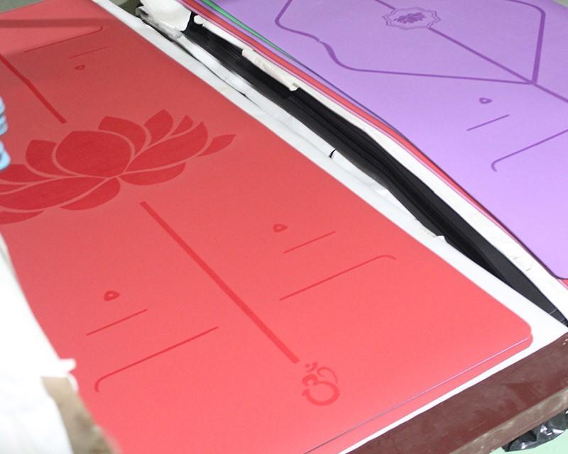 Yoga mat PU rubber mat Antislip mat 4