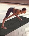 Yoga mat PU rubber mat Antislip mat 1