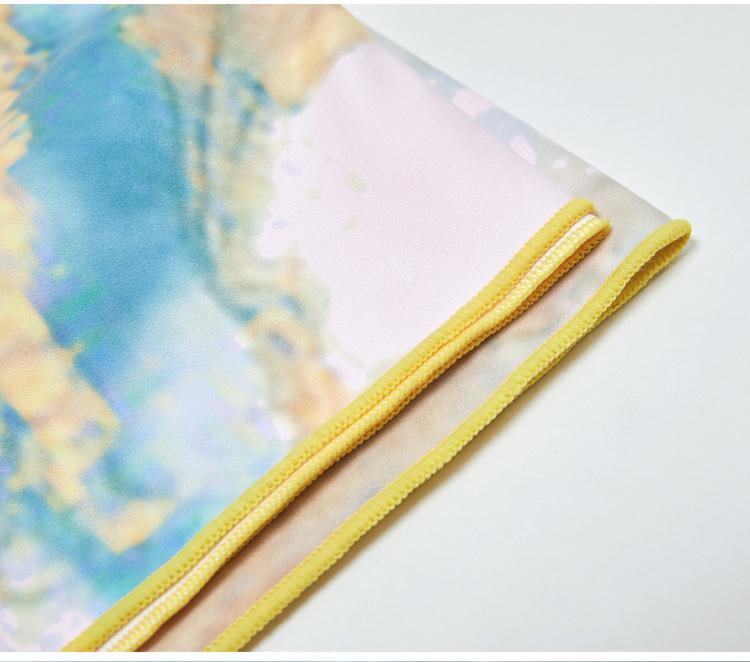 Yoga towel picnic mat Foldable yoga mat 15